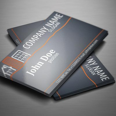 BUSINESS CARD WITH 3D SPOT