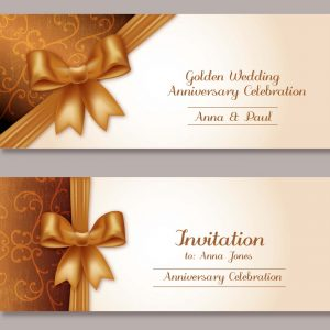 INVITATION CARD/ MENU CARD