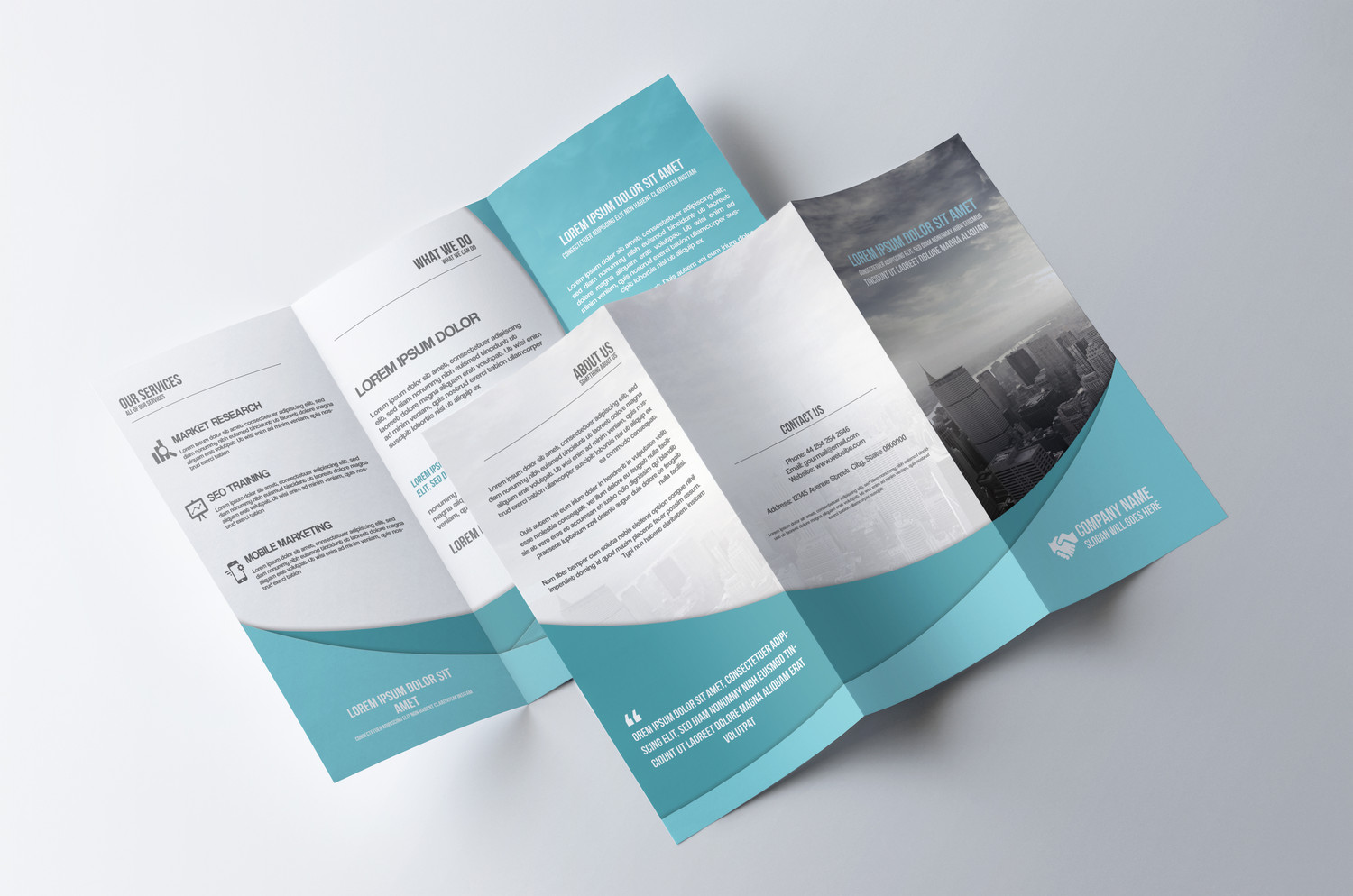 fold brochures imprimeries express