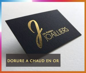 dorure a chaud en Or